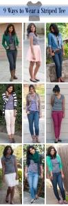 Ways to Wear a Striped Shirt