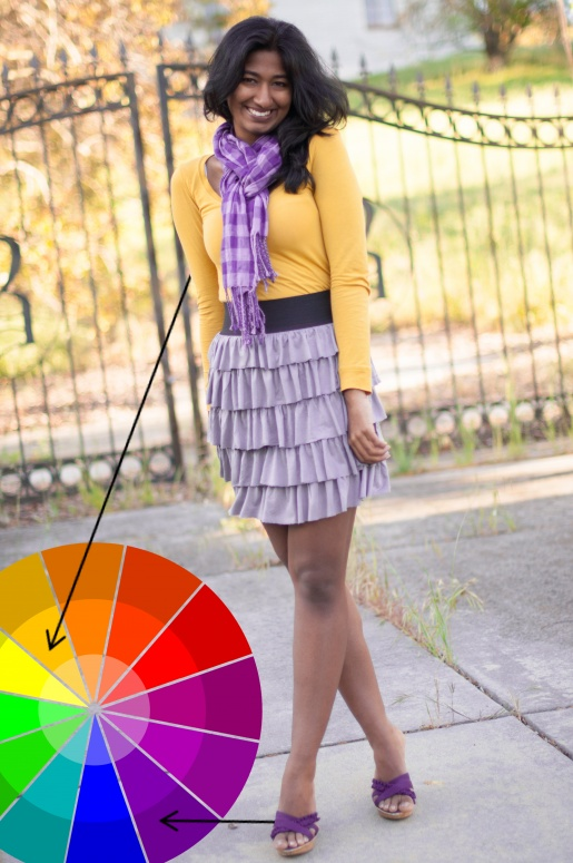 How to Combine Colors : Complementary Colors | Dress Up on ...