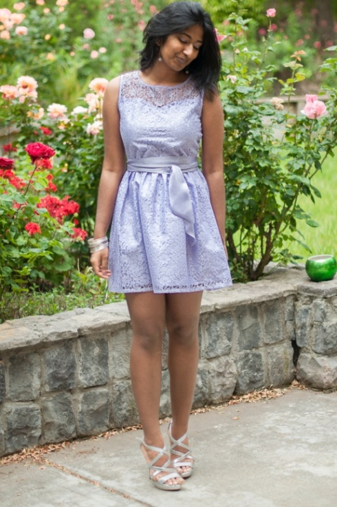 Lavender Lace Dress-10